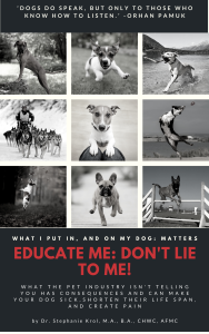 Educate Me: Dont Lie to Me Book